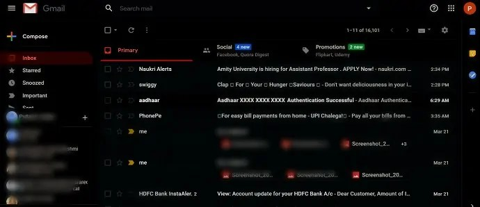Gmail-inbox-in-Dark-Mode