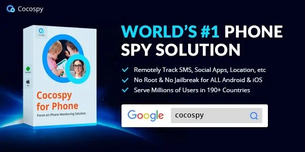 Cocospy - tap a cell phone remotely