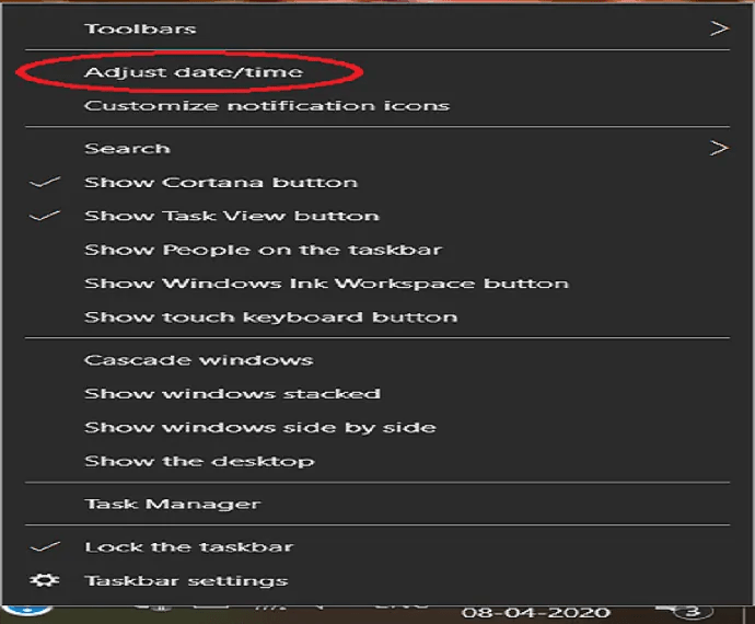 How to Change the date and time in Windows 10? 1