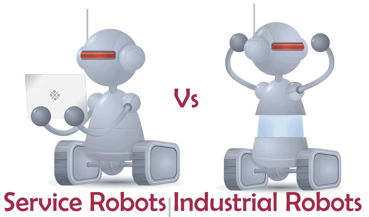 Industrial Robots Vs Service Robots