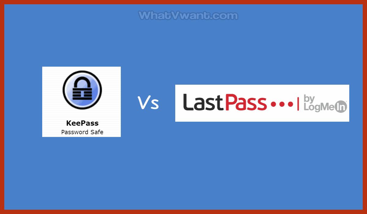 Keypass vs lastpass