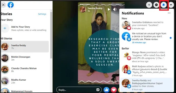 New Facebook-New Streamlined Way To Navigate-make it easy-for-you-to-reach-your-desired-one-quickly-via-notifications