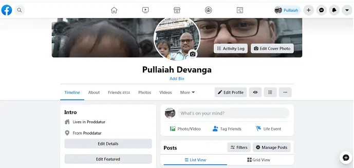 New Facebook-Profile-page-with-Cleaner look-and-bigger-text
