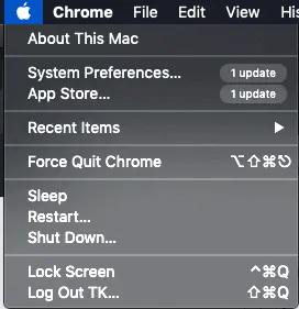 apple menu- password protect files on mac