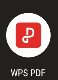 WPS PDF app