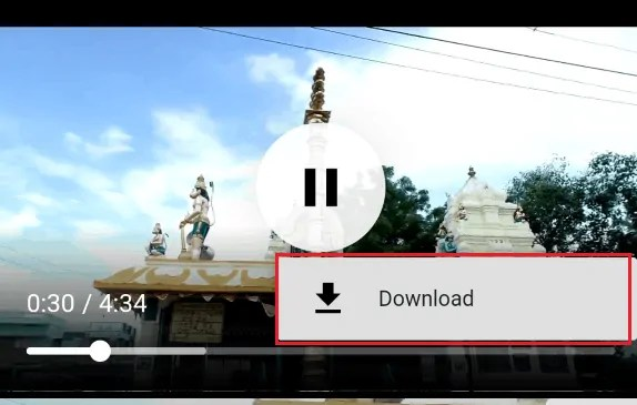 click on download option