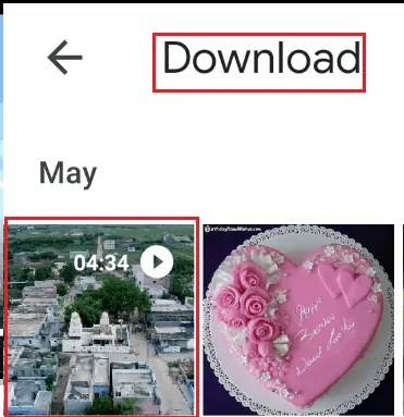 download in android