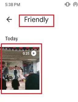 friendly folder
