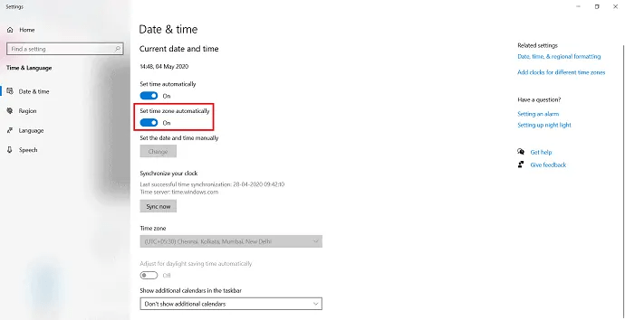 How to Change The Time Zone in Windows 10? 5 Simple Ways 1
