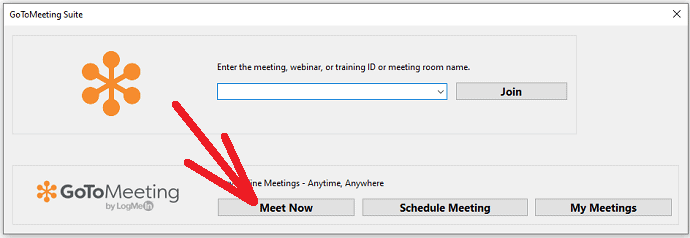 GoToMeeting-desktop-app-Meet Now-button-to-host-a-meeting-with-a-random-id