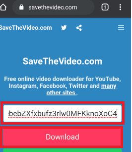 click on the download option