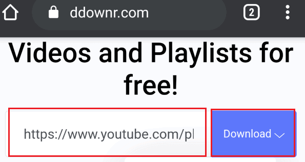 paste the link