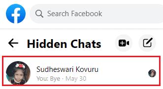 hidden chats