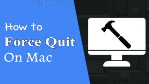 We do force quit when applications are not responding well. It is the same with mac as well. Here are the methods to force quit on Mac and are completely safe.