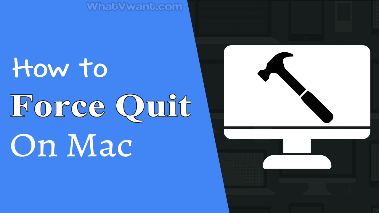 5 Free Methods to Force quit on Mac 1