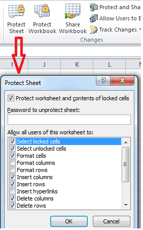 How to Password protect Excel file 2