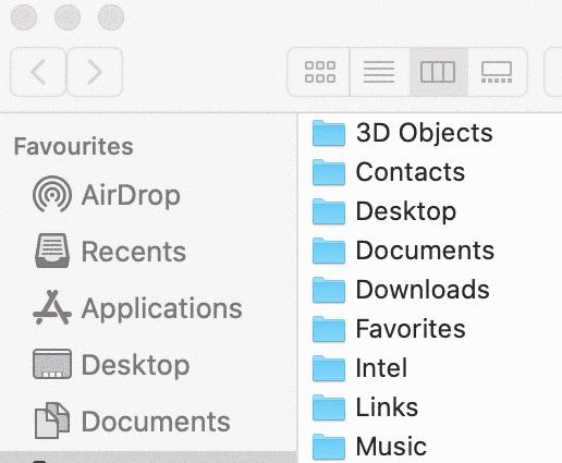 5 Methods to show hidden files on Mac 2
