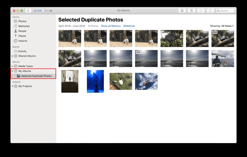 select-duplicate-photos-on-mac