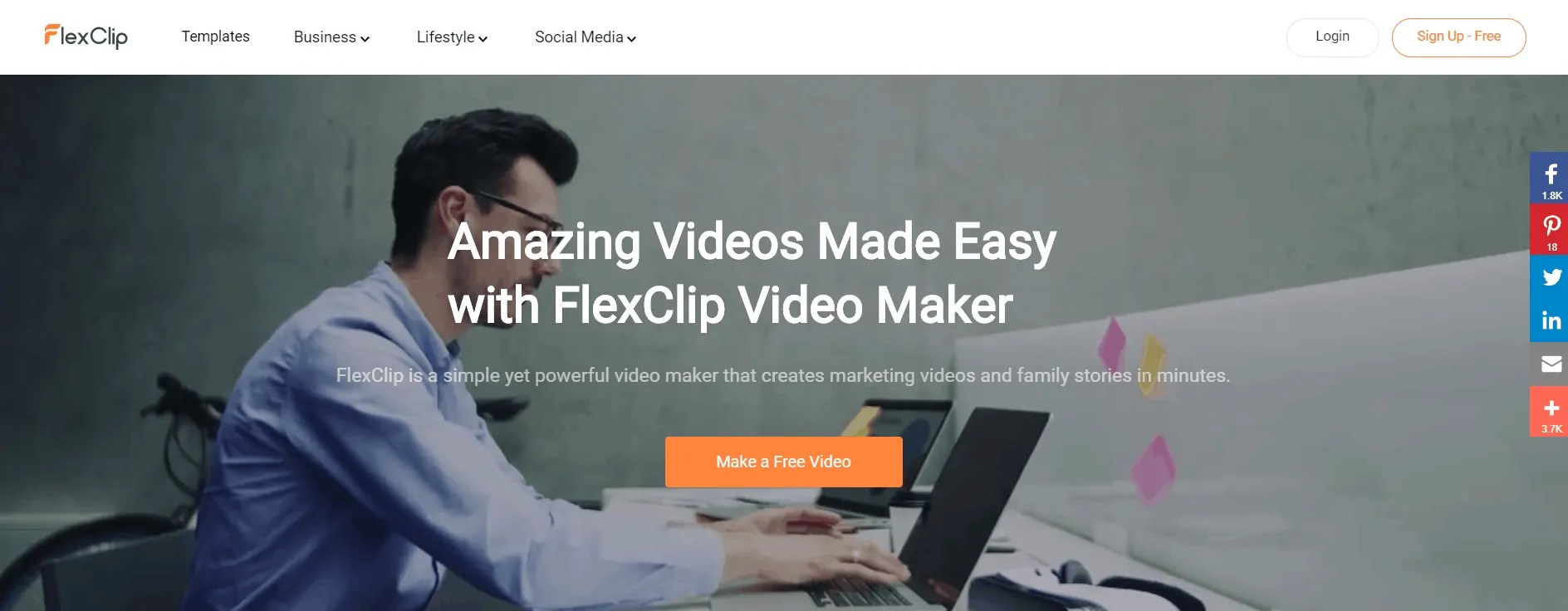 FlexClip Video Maker Review