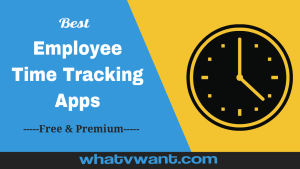 Employee time tracking apps