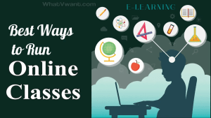 Run online classes