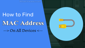 What is my MAC address