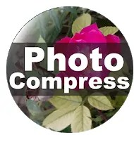 photo compress app logo