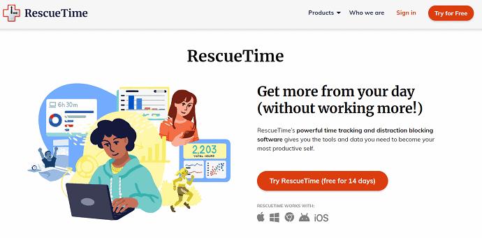 RescueTime.