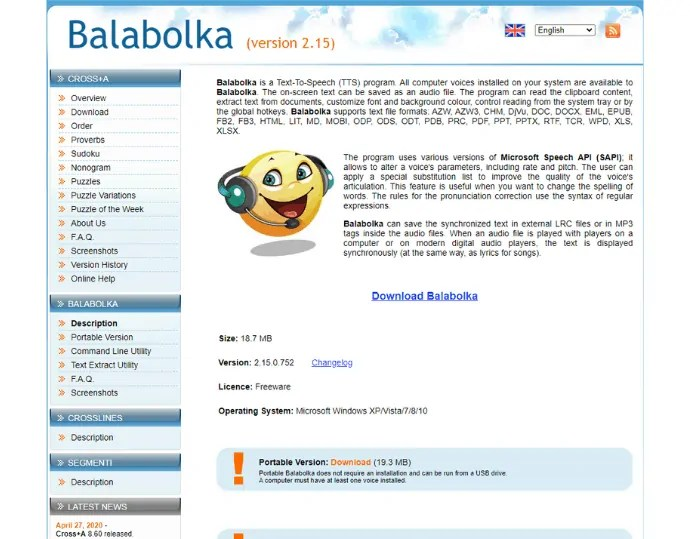 Using Balabolka (Best Free text to speech software)
