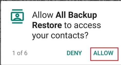 allow to access files