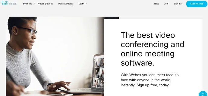 Cisco webex official website.