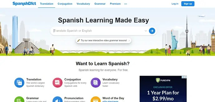 Best spanish to englisg dictionary.