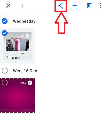 How to send a video from android to email, WhatsApp 3