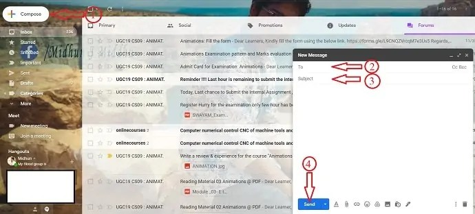 How to Recall an Email already sent in Gmail 1