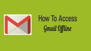 Access Gmail Offline