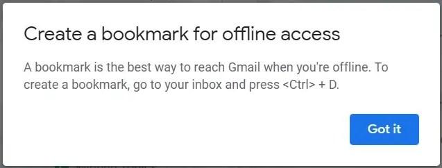 Gmail bookmark