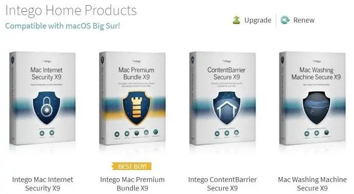 Intego Home Products