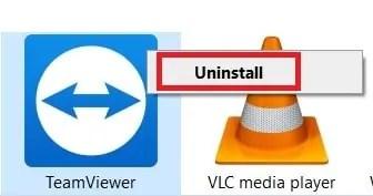 TeamViewer Uninstall