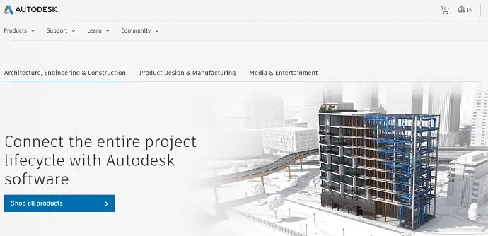Autodesk official page