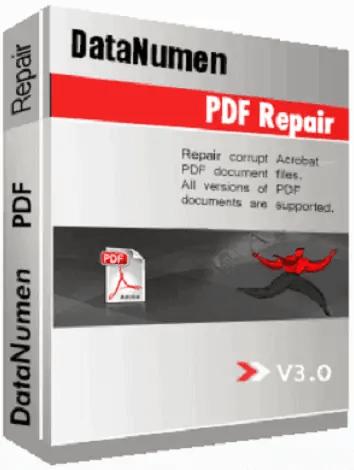 DataNumen PDF Repair tool
