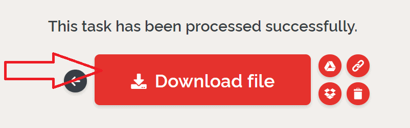 Select Download file option