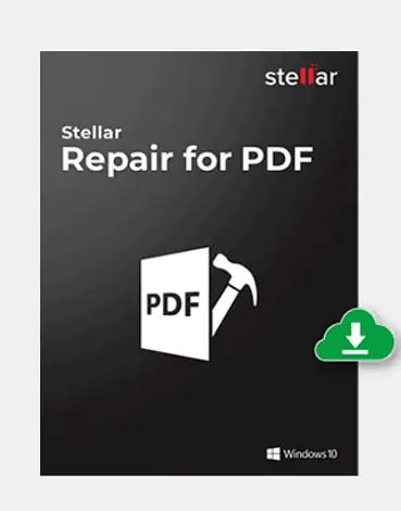 Stellar PDF repair Tool