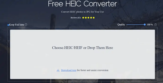 Apowersoft HEIC converter official page