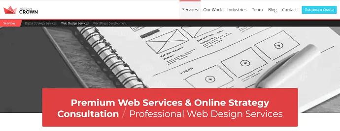 Jordan Crown - Web Design company