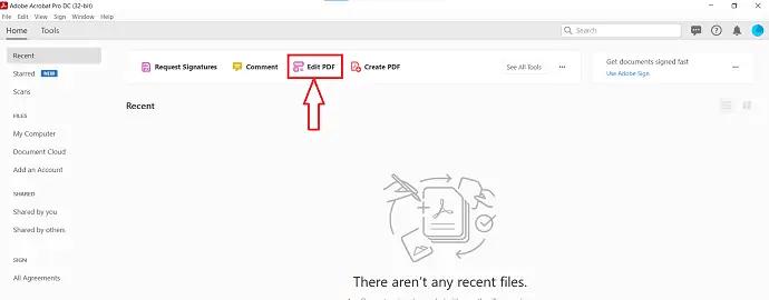 Edit PDF in Adobe Acrobat DC
