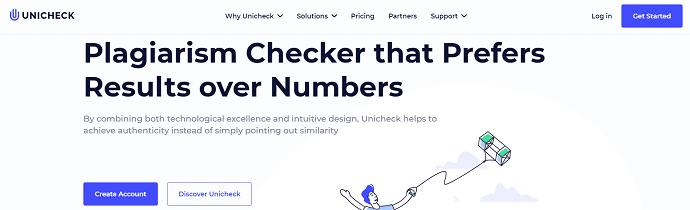 Unicheck Homepage