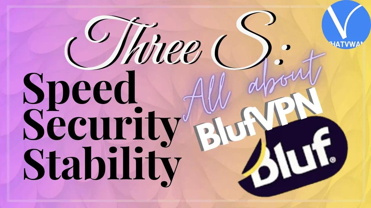 BlufVPN Review