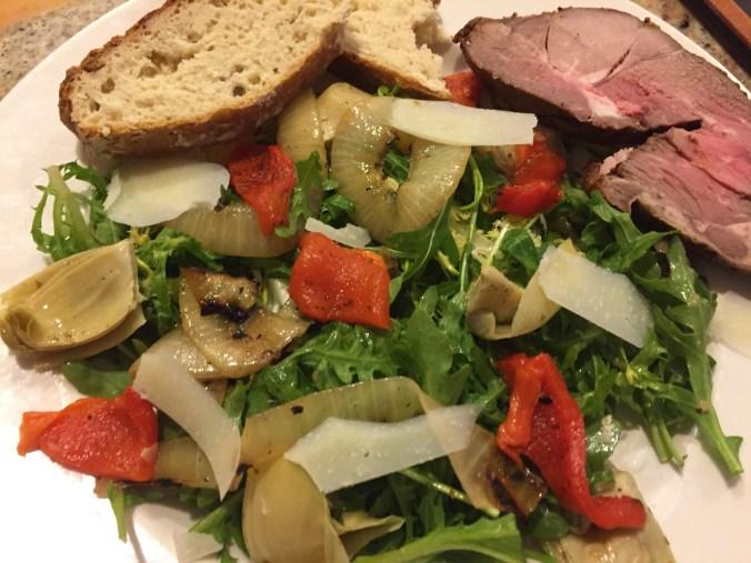 lamb salad