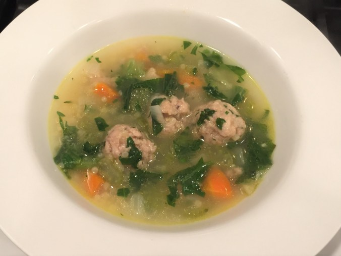 wedding soup bowl