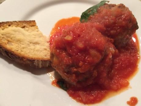 Meatball plate